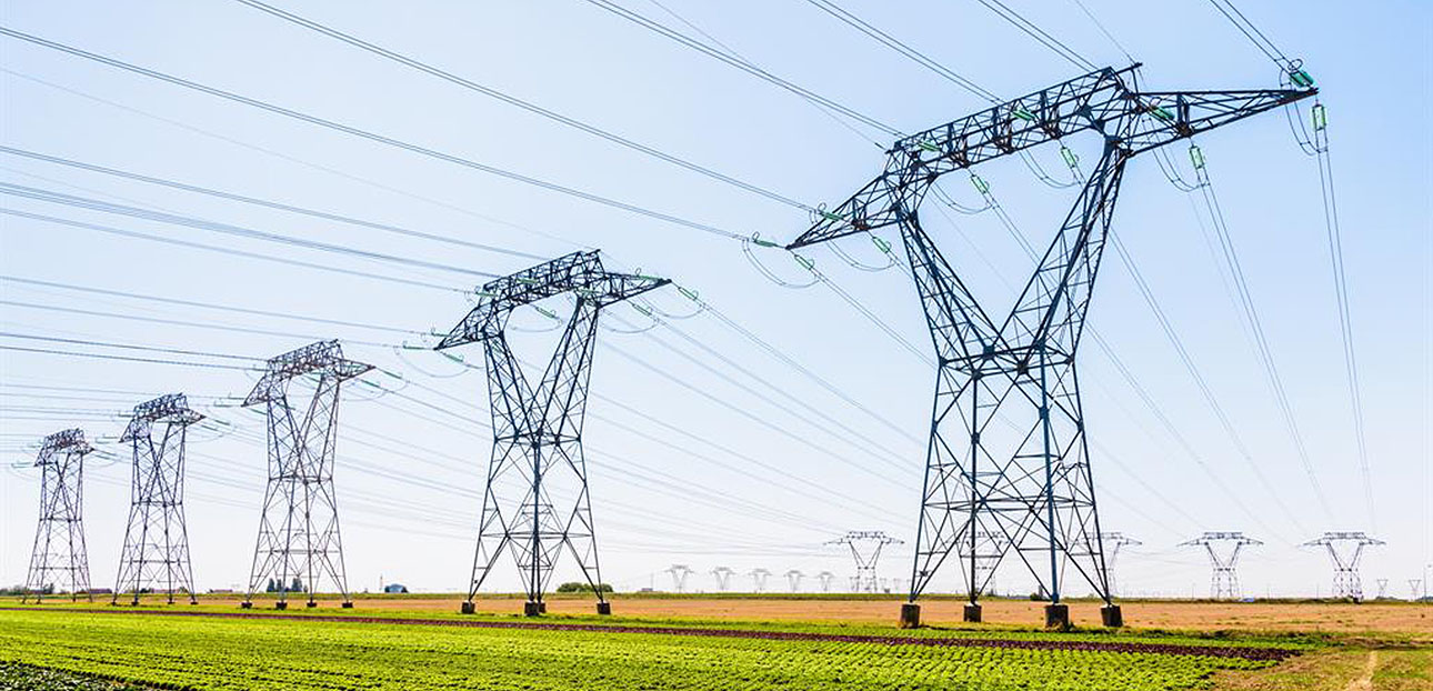 electromagnetic radiation of electricity pylons