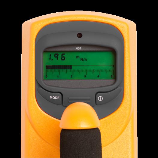fluke radioactivity measurement