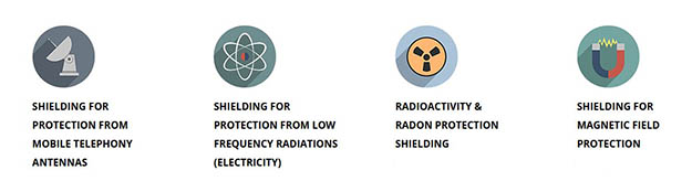 Radiation Shielding services and materials