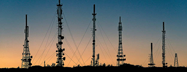radio and mobile signal transmition antennas and towers