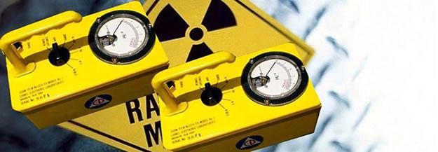 radioactivity - geiger radiation counter