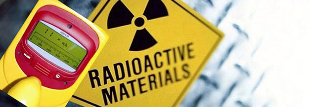 radioactivity - geiger radioactive counter