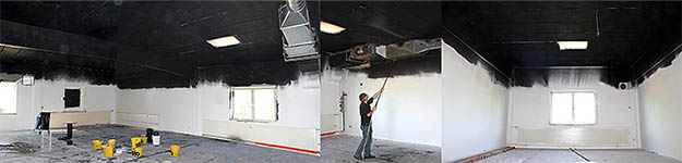 EMF radiation - walls' shielding paint