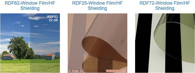 window film - home radiation shield