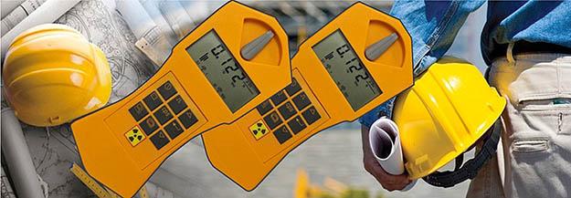 mesures de radioactivité - gaz radon